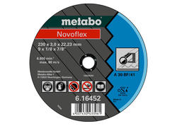 Metabo NOVOFLEX Rezný kotúč 150x3,0x22,23 Oceľ, TF 41, 616448000
