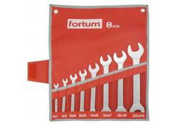 Fortum Vidlicové kľúče 6-7/8-9/10-11/12-13/14-15/16-17/18-19/22-24mm, 8ks 4730104