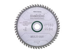 "Metabo Pílový kotúč ""MULTI CUT - PROFESSIONAL"", 190x20 Z54 FZ/TZ 5°NEG., 628076000"