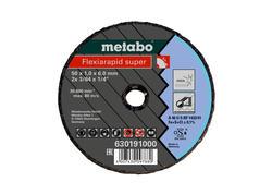 Metabo FLEXIARAPID SUPER Rezný kotúč 76x1,0x6,0 INOX