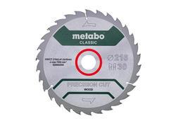 """Metabo Pílový kotúč """"PRECISION CUT WOOD - CLASSIC"""", 216x30 Z30 WZ 22°, 628062000"""