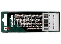 Metabo Kazeta s vrtákmi do betónu pro 5 dielna, 627181000