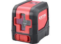 Extol Premium Vodováha laserová krížová, samonivelačná, zelený laser, 1H1V 8823306