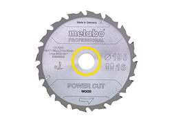 "Metabo Pílový kotúč ""POWER CUT WOOD - PROFESSIONAL"", 160x20, Z10 WZ 22°, 628002000"