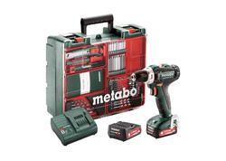 Metabo POWERMAXX BS 12 SET Akumulátorový vŕtací skrutkovač 12 V, 601036870