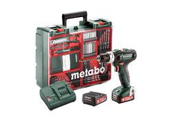 Metabo POWERMAXX SB 12 SET Akumulátorová príklepová vŕtačka 12 V, 601076870