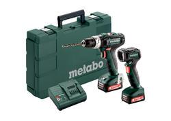 Metabo SET POWERMAXX SB 12 Akumulátorová príklepová vŕtačka 12 V, 601076900