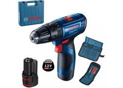 Bosch GSR 180-LI Professional Aku vŕtací skrutkovač 18V, 2x 1,5 Ah v kufríku 06019F8100
