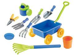 Keter Sada hračiek do piesku s vozíkom 9 dielna, 802375