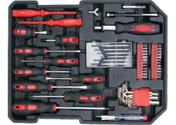 Strend Pro ST873 Sada náradia ALU kufrík 117 dielna