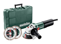 Metabo WEQ 1400-125 SET Uhlová brúska 125 mm, 600347510