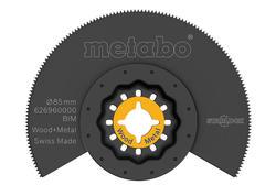 Metabo Segmentový pílový list  drevo/kov BIM, Ø85 mm, 626960000