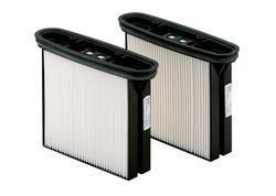 Metabo 2 filtračné kazety HEPA, POLYESTER, TRIEDA PRAŠNOSTI H (HEPA 14), 630326000
