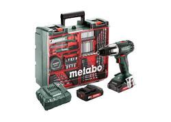 Metabo SB 18 LT SET Akumulátorový príklepový vŕtací skrutkovač 18 V, 602103600