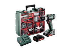 Metabo SB 18 L SET Akumulátorový príklepový vŕtací skrutkovač 18 V, 602317870