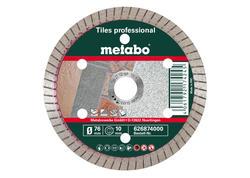 """Metabo Diamantový rezací kotúč """"TP"""", dlažba""""PROFESSIONAL"""", 76x10,0 mm, 626874000"""