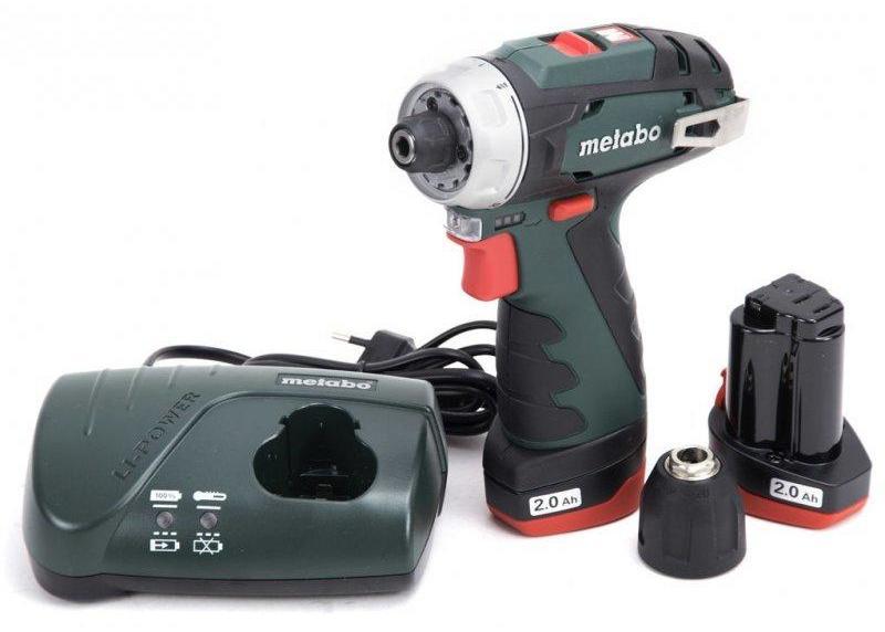 Metabo POWER MAXX BS BASIC Skrutkovač aku 2x 2Ah, 12 V, 600984000