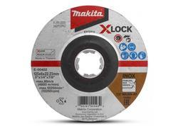 Makita E-00402 Kotúč brúsny nerez 125x6x22,23mm X-LOCK