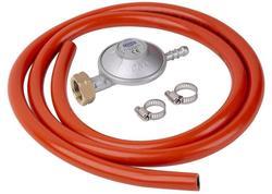 Strend Pro Grill Regulátor plynu, 28-30 mbar, UK8 mm, EN16129, 2x spona, hadica 1,5 m