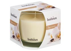 Bolsius Jar True Scents 95/95 mm Sviečka vanilka