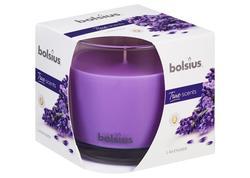 Bolsius Jar True Scents 95/95 mm Sviečka levanduľa