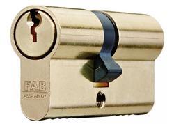 FAB 100RSD/29+35 mm Vložka cylindrická stavebná 3 kľúče