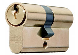 FAB 50D/30+35 Vložka cylindrická stavebná, kusové balenie, 3 kľúče