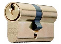 FAB 50D/30+40 Vložka cylindrická stavebná 3 kľúče