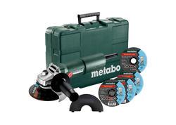 Metabo W 750-125 SET Uhlová brúska 125mm v kufri 603605680