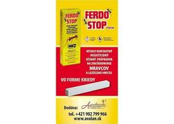 Strend Pro FerdoStop Krieda proti mravcom a plošticiam