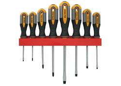 Strend Pro SDX72-308 Sada skrutkovačov, 9 dielna, ploché + Phillips