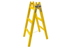 Strend Pro Rebrík maliarsky DRD MA 4 priečkový, 134 cm, drevený