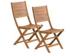 FIELDMANN FDZN 4012-T Skladacia záhradná stolička 2 kusy