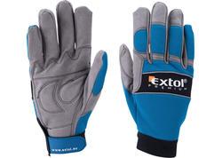Extol Premium 8856605 rukavice koža/syntetika, 258mm