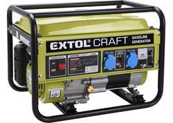 Extol Craft 421000 Elektrocentrála rámová benzínová, 1F, 2,8kW/230V