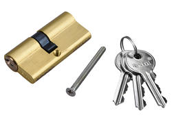 Extol Craft 9404 Vložka cylindrická mosadzná, 65mm, 3x kľúč