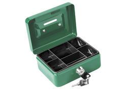 Extol Craft 99008 Pokladnička prenosná oceľová, 125x90x60mm, 2x kľúč