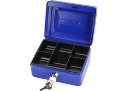 Extol Craft 99011 Pokladnička prenosná oceľová, 200x160x90mm, 2x kľúč