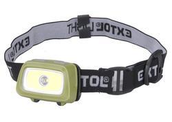 Extol Light 43108 Čelovka 250lm bodová LED, 3x1,5V AAA