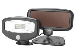 Extol Light 43270 Svietidlo LED solárne s pohybovým senzorom, 16xLED, 100 lm, IPX4