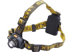 Extol Light 43104 Čelovka 3W CREE XPE LED, 120lm, 3xAAA, spínanie pohybovým senzorom