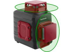 Fortum 4780214 Vodováha laserová samonivelačná, 2D(1H360+1V360), zelený laser, Li-ion akumulátor
