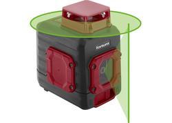 Fortum 4780209 Vodováha laserová samonivelačná, 1D1V(1H360+1V), zelený laser, Li-ion akumulátor