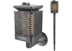"Extol Light 43133 Pochodeň LED solárna, 12x LED, efekt ""plameň"""