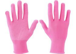 """Extol Lady Rukavice polyester ružové, PVC terčíky, 7"""" 99719"""