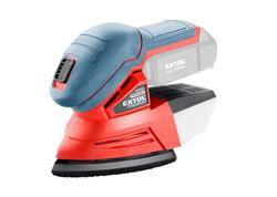 Extol Premium 8891845 Brúska deltová vibračná aku, bez aku a nabíjačky, 135×95mm