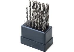 Extol Craft 11190 Vrtáky do kovu HSS, 19-dielna sada, pr.1-10mm