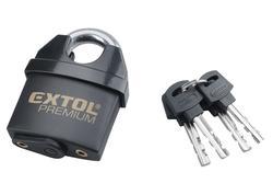 Extol Premium 8857760 Zámok visací bezpečnostný vodeodolný, 4 kľúče, 60mm