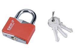 Extol Premium 8857465 Zámok vysací 50mm, s ochranným plastom