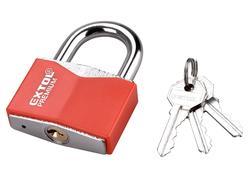 Extol Premium 8857466 Zámok vysací 60mm, s ochranným plastom